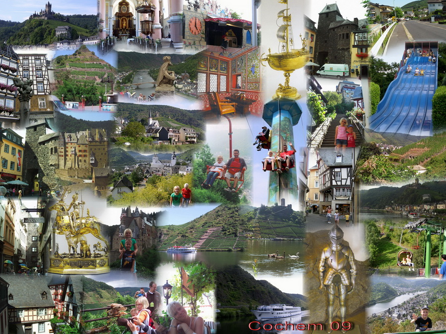 Collage Mosel